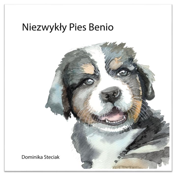 """Książka dla dzieci z cukrzycą """"Niezwykły Pies Benio"""""""